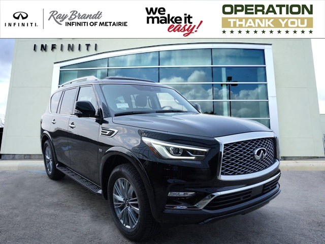 Certified Pre-Owned 2018 INFINITI QX80 RWD