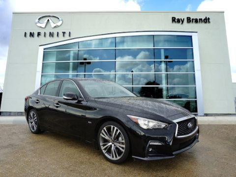 Certified Pre-Owned 2018 INFINITI Q50 3.0t Sport RWD