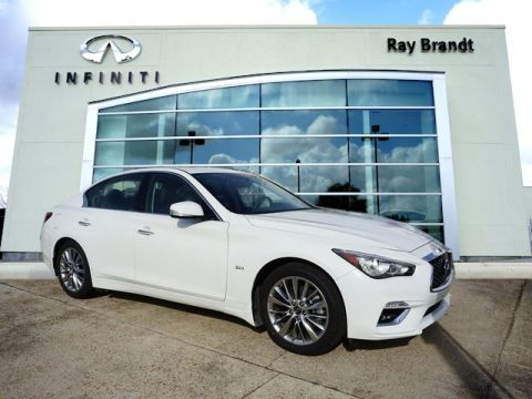 Certified Pre-Owned 2018 INFINITI Q50 3.0t Luxury RWD