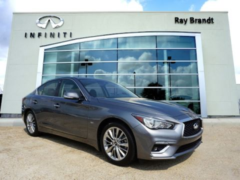 Certified Pre-Owned 2018 INFINITI Q50 3.0t Luxury AWD